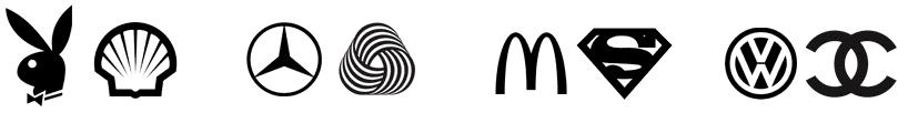 Przykłady znanych logo, które nie były tanie