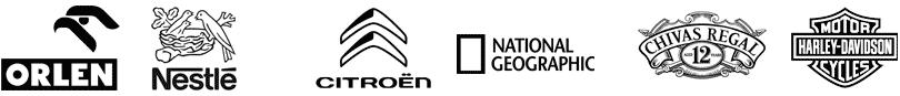 Znane logo polskich i zagranicznych firm