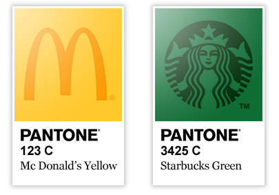 Kolory żółty i zielony w logo