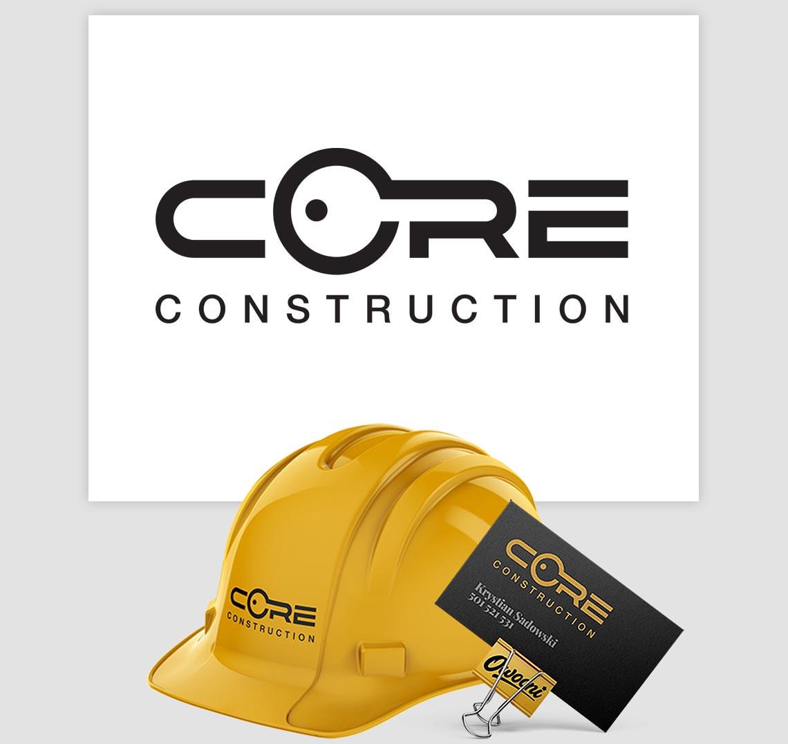Tworzenie logo Core na podstawie przykładu